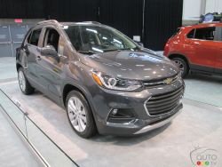 The new 2017 Chevrolet Trax is here, check it out.