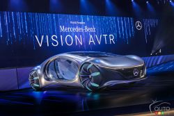 Voici le prototype Mercedes-Benz VISION AVTR
