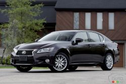 Nice body - There's no doubt that the new 2013 Lexus GS 350 is the styling winner among all four-door Lexus cars and SUVs. Be it in profile or head-on, the GS sports striking lines previously reserved for essentially all other brands.