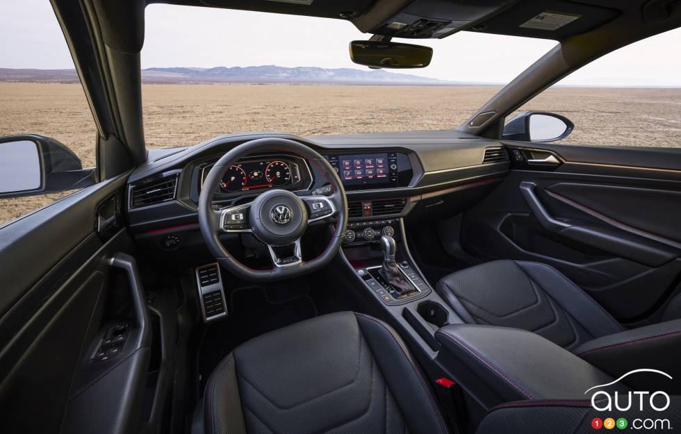 2019 Volkswagen Jetta GLI debuts at the Chicago Auto Show: Dashboard