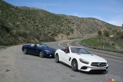 2017 Mercedes-benz SL class pictures