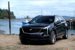 The new 2019 Cadillac XT4