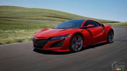 The 2019 Acura NSX unveiled at Pebble Beach