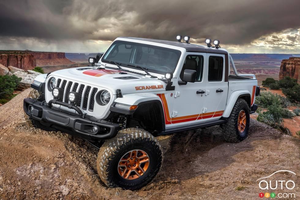 Jeep Gladiator Scrambler