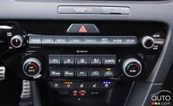 Contrôle du système de climatisation de la Kia Sportage 2017
