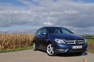 2013 Mercedes-Benz B-Class overview in pictures