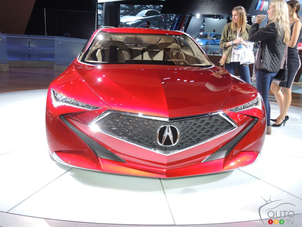 Discover some 2017 models !: Acura concept front view