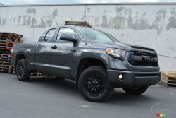 Toyota's added the TRD Pro version, the loudest, rough and tumble version of its half-ton truck and I'm absolutely smitten
