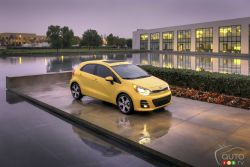 A car that has all the bases covered, from thoughtful versatility to excellent fuel efficiency. That car is the 2016 Rio 5-door. It's even more ready to be loved, with new, more dramatic exterior styling.