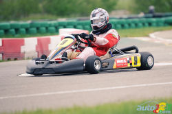 Max Karting racing school video: Helmet view of the SRA Karting International track on board Rotax Max karts. Crank up the volume!