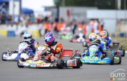 24h du Mans karting, changement de pilotes: Changement de pilote ultra rapide lors des dernières 24 Heures du Mans de karting 2013.