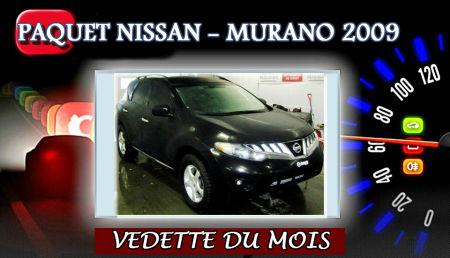 NISSAN MURANO SL 2009 - PAQUET NISSAN  LVIS, QUBEC