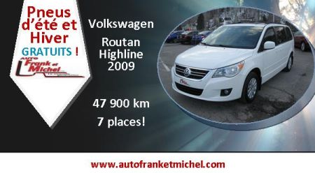 Idal pour la famille! Volkswagen Routan Highline 2009 chez Auto Frank et Michel