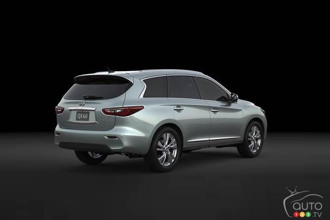 Infiniti to unveil QX60 Hybrid at New York Auto Show
