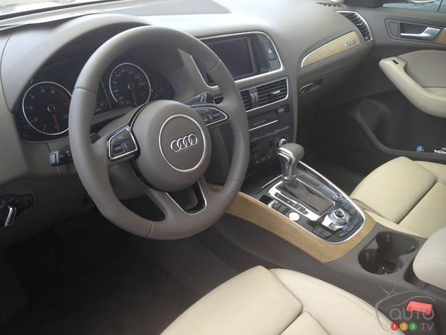 Audi q5 2013 premi res impressions for Interieur q5