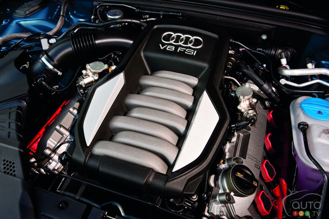 2012 Audi S5 coupe engine