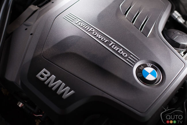2012 BMW Z4 sDrive28i engine