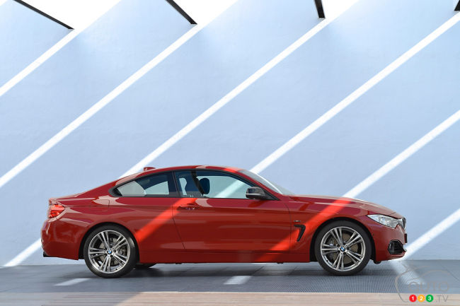 2014 BMW 435i xDrive side view