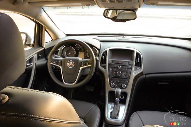 Buick Verano 2012 habitacle