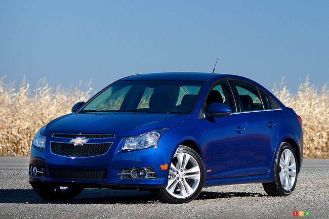 Chevrolet 44 789 2011 And 2012 Cruze Recalled