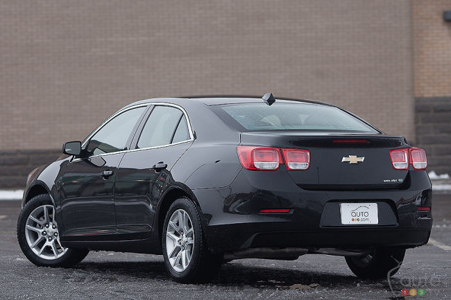 2013 Chevrolet Malibu Eco 2lt Review