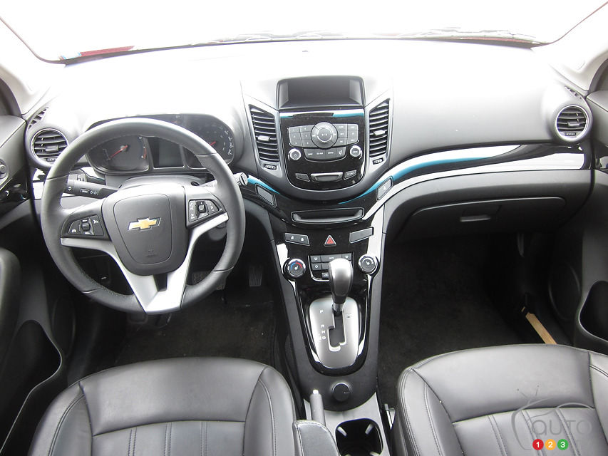 SUV Review: 2012 Chevrolet Orlando | Driving