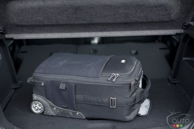 2012 Chevrolet Sonic LT trunk