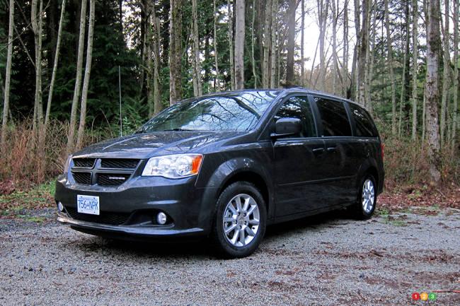 Dodge Grand Caravan 2012 vue 3/4 avant