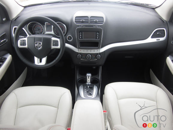 2012 Dodge Journey R/T AWD dashboard