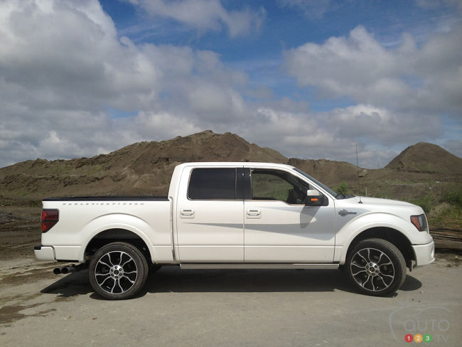 2012 Ford F-150 Harley-Davidson Edition right side view