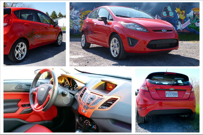 Ford Fiesta Hatchback SES 2012