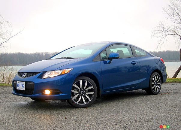 2013 honda civic coupe ex l navi review. Black Bedroom Furniture Sets. Home Design Ideas