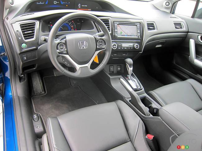 Chevy Cruze Tire Pressure >> 2013 Honda Civic Coupe EX-L Navi Review