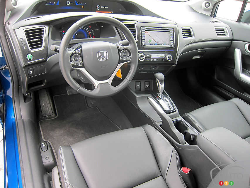 Awesome 2013 Honda Civic Coupe EX L Navi Cabin