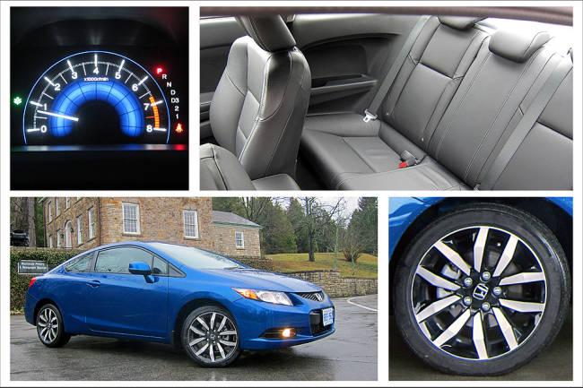 2013 Honda Civic Coupe Ex L Navi Review