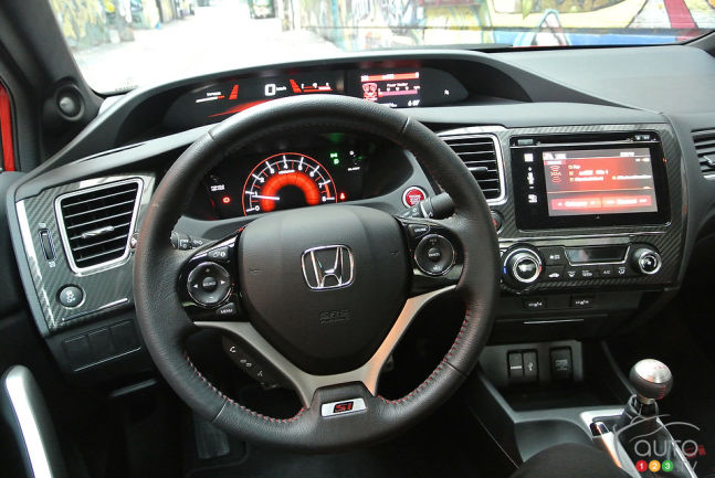 Honda Civic Si Coupé 2014