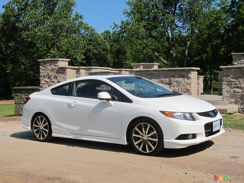 2012 Honda Civic Si HFP Front 3/4 View