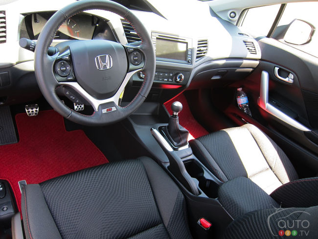 2012 Honda Civic Si HFP Cockpit