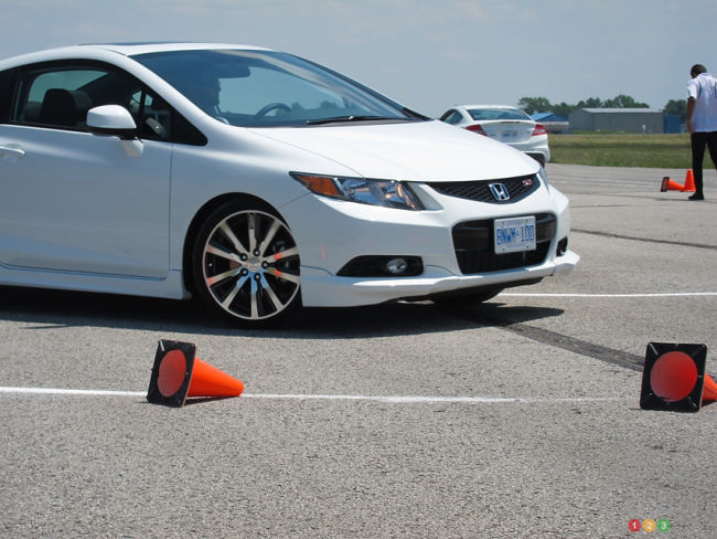 2012 Honda Civic Si HFP tire