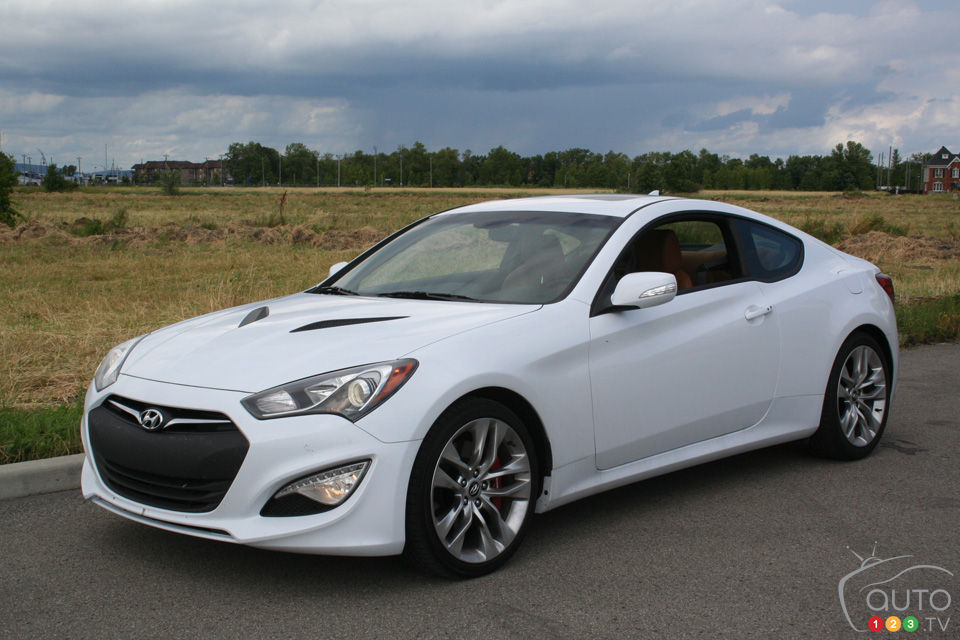 Attractive 2014 Hyundai Genesis Coupé ...