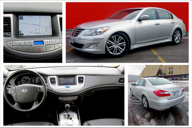 2012 Hyundai Genesis 3.8 sedan