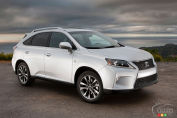 2013 Lexus RX 350 F Sport Review