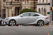 Behold the all-new 2014 Lexus IS sports sedan