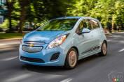 Chevrolet Spark électrique 2015 : essai routier