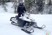 Snowmobiling in Wyoming