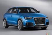 Audi dévoilera le prototype RS Q3 à Pékin