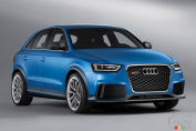 Audi shows off RS Q3 concept in Beijing