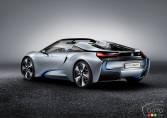 BMW debuts i8 Concept Spyder eDrive in Beijing