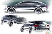 Bentley EXP 9 F : les motorisations du VUS dévoilé