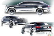 Bentley reveals more details about new luxury SUV